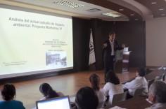 El Dr. Francisco Casanova presentó un análisis de impacto ambiental del proyecto Monterrey VI