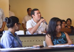 La participación de los jóvenes inyectó mucha dinámica en el seminario