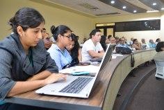 Jóvenes asistentes al seminario