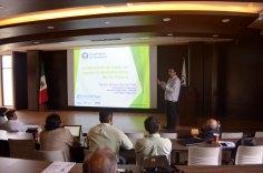 El Dr. Hector Barrios Piña sobre la interacción de masas de agua en el Río Pánuco