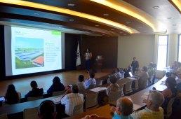 Ing. Rosa María Brena González en su ponencia sobre reuso de aguas residuales